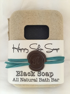 Happy Skin Soap - Black Soap