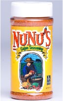 NuNu's Cajun Seasoning - 3oz, 8oz